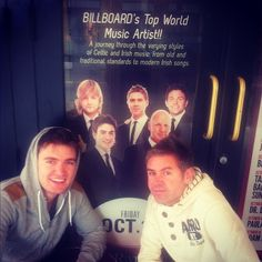 """""""Myself and @neilbyrne_CT spotted a great gig in town for 2 Moro night.Whos coming along?""""-Emmet"""