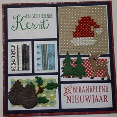 Marianne Design, Card Patterns, Cute Crafts, Collages, Christmas Cards, Have Fun, Cross Stitch, Layout, Sewing