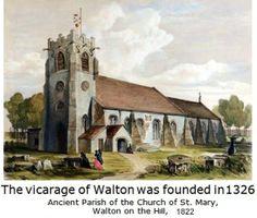 Another of St Mary's (Walton Parish Church)  liverpool-l4-walton-st-marys-church-1822