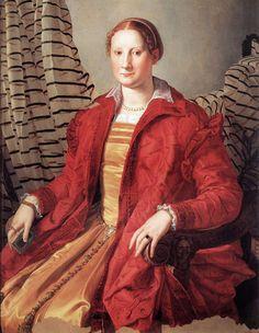 Agnolo Bronzino, Ritratto di signora: 1530-1532