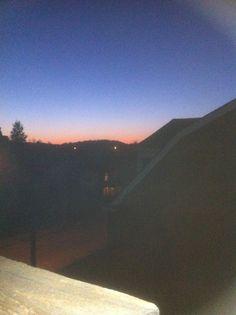 Sunset from my window