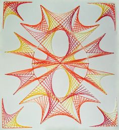 String Art Mixed technique composition by terhesati on deviantart
