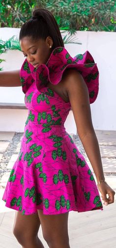 The complete pictures of latest ankara short gown styles of 2018 you've been searching for. These short ankara gown styles of 2018 are beautiful Ankara Styles For Women, Kente Styles, African Dresses For Women, African Print Dresses, African Attire, African Wear, African Women, African Prints, African Fashion Ankara