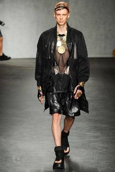 KTZ Spring 2015 Menswear Collection Slideshow on Style.com