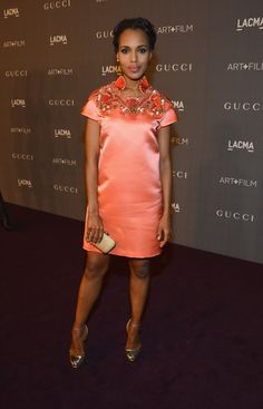 Kerry Washington doing her thang in Gucci!