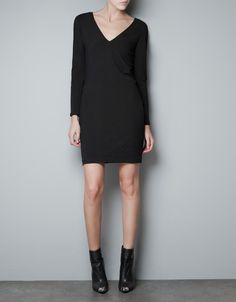 DRESS WITH DOUBLE LAYER SLEEVES - Dresses - Woman - ZARA United States