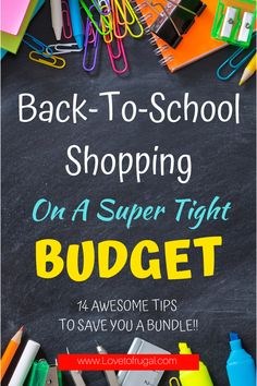 On a super tight budget and not much to spend on clothes Frugal Living Tips, Frugal Tips, Back To School Shopping, Tight Budget, Money Saving Tips, Save Yourself, School Supplies, Budgeting, Tips For Saving Money
