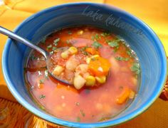 Juha s grahom i kukuruzom :: Soup with beans and corn | Laka kuharica - Easy Cook