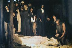 The Resurrection of Lazarus by Henry Ossawa Tanner