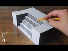 Ultimate Guide on How to Draw 3D Steps - Trick Art For Kids - YouTube