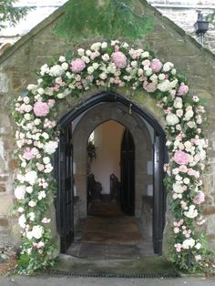 Archway for small village church in Derby