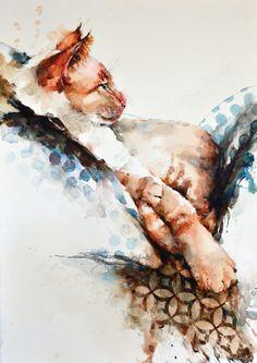 painting_loose_Jozwiak_creature_comforts | artistsnetwork.com