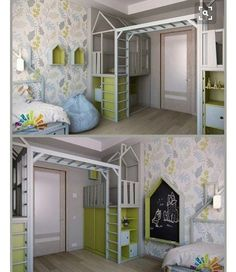 Oh what fun could be had in a bedroom like this... Pic credit @vk.com #kidsinterior #kidsroom #kidsbedroom #childrensroom #childrensinteriors #kidsdecor #decor #kidsbedroominspiration #childrensbedroom #childrensspaces #girlsroom #girlsbedroom #boysroom #boysbedroom #interiorinspo #bedroom #interiors #roxyoxycreations