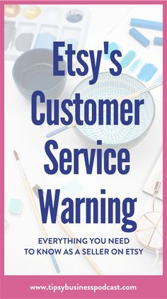 Etsy has a new policy that you need to know if you're selling on etsy! This rule has everyone on social media freaking out. Craft Business, Business Tips, Creative Business, What To Sell, How To Make Money, Starting An Etsy Business, Etsy Seo, Sell On Etsy, Etsy Jewelry