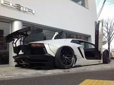 Lamborghini Aventador by Liberty Walk..