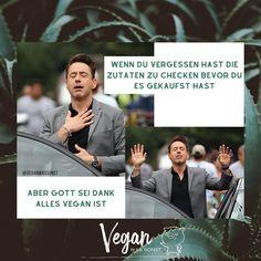 """Vegan Was Sonst 🌱 on Instagram: """"Doppelklick, wenn du's auch kennst 👆🏻😅😂⠀ ⠀ ⠀ •••••••••••⠀ ⠀ ✔︎ Für MEHR folge uns auf @veganwassonst💚⠀⠀⠀⠀ ⠀ ⠀ ⠀ ⠀ ⠀ #veganwassonst…"""" Instagram, Movie Posters, Film Poster, Billboard, Film Posters"""