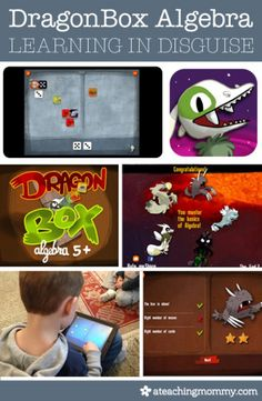 Teach your kid something new without them even realizing it. Read this review on DragonBox Algebra, an app game for 5 & Up http://wp.me/p4HCtF-1E2