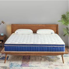 Perfect balance of support & comfort/Motion isolation minimizing partner disturbance/Health & hypoallergenic mattresses /Mattress in a box, smartly shipped & easy set up Full Size Mattress, Mattress In A Box, Pillow Top Mattress, Queen Mattress, Anthology Bedding, Mattress Springs, Adjustable Beds, Bed Furniture, Memory Foam