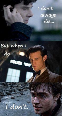 Sherlock - Doctor Who - Harry Potter