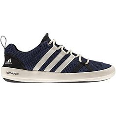 cheap for discount 452e1 db459 Adidas Outdoor CC Lace Boat Shoe w rubber soul and drainage system. For the athletic  male.