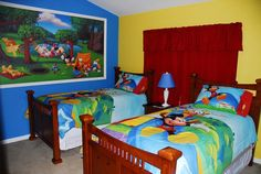 Disney Mural Mickey Mouse Clubhouse