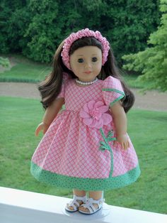 PDF Sewing Pattern / SWEET PEA / Summer Dresses for American