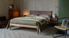 Hoxton Contemporary Bed | Wooden Beds | Natural Bed Company