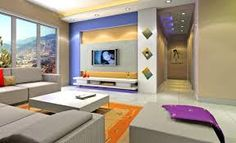 pinterest tv wall living room - Recherche Google