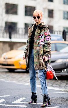 Camuflagem: a moda é orgânica - Moda que Rima