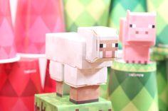 Parangolé & Minecraft http://www.parangole.com.br/categoria-produto/festa-por-tema/minecraft/