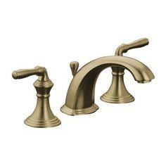 KOHLER - Devonshire Widespread Lavatory Faucet In Vibrant Brushed Bronze - K-394-4-BV - Home Depot Canada