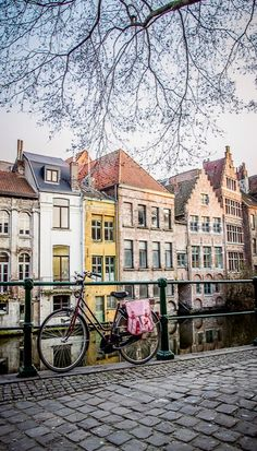 bruges, belgium....Dream trip is us taking Chris, Jordan, Brayden and Kayla Grace. Loved it there. We need a lottery please!
