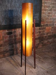 1960's floor standing 'rocket' lamp