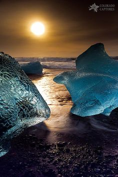 Glacial Ice Succumbing To The Sea by Mike Berenson.  You can see more of Mike's work at Fine Art America.