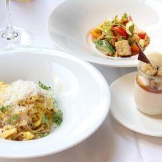 Patios with Weekday Lunch Specials Lunch Specials, Salad, Restaurant, Food, Courtyards, Meal, Diner Restaurant, Essen, Salads