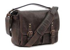 The ONA Leather Prince Street Camera Messenger Bag