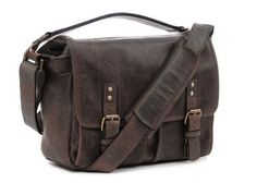 The ONA Leather Prince Street Camera Messenger Bag