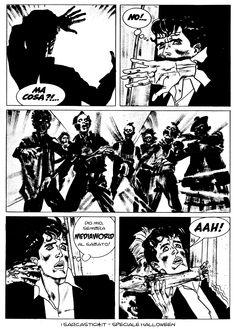 Pagina 46 - L'alba dei morti viventi - lo speciale #Halloween de #iSarcastici4. #LuccaCG15 #DylanDog #fumetti #comics #bonelli