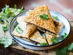 I'd been pretty plain Jane about the whole quesadilla thing, until I realized that my son couldn't thrive on cheese and tortillas alone.