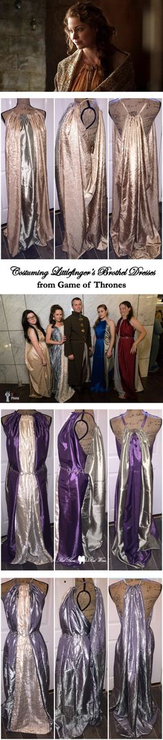 Costuming Littlefinger's Brothel Dresses from Game of Thrones (for DragonCon cosplay as Shae or Ros)