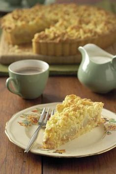 Louwarm terte propvol wintergeure is vandeesweek op die spyskaart. Apple Cake Recipes, Apple Desserts, Milk Recipes, Tart Recipes, Sweet Desserts, Sweet Recipes, Dessert Recipes, Cooking Recipes, Baking Desserts