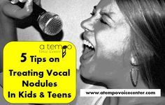 5 Tips for treating Vocal Nodules in Kids and Teens! What a fantastic resource.