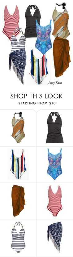 """""""Bathers"""" by fashionwithafriend on Polyvore featuring Hermès, Tommy Bahama, Gottex, TC Fine Intimates, Paolita, Heidi Klein and Chesca"""