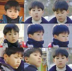 Baby Hongki TT^TT so cute I can't take it!