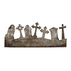Sizzix - Tim Holtz - On the Edge Die - Alterations Collection - Die Cutting Template - Graveyard at Scrapbook.com $15.99