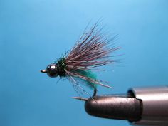 Nice bead head caddis fly pattern. For more info on fly reels and fly fishing check out www.theflyreelguide.com Don't forget to support and check out the publisher/Pinners of this photo.thx