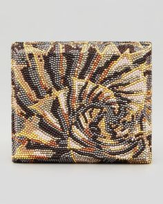 0ab157b7a Judith Leiber Couture Agave Cigar Box Clutch Bag, Champagne Multi on  shopstyle.com Beaded