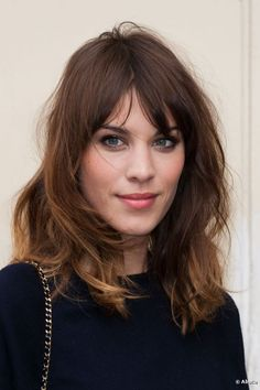 Alexa Chung shows us how fashion is done during Fashion Week in Paris on 3 July 2012.