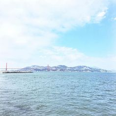 Sunny skies in Marin • Foggy skies in SF | #theusual