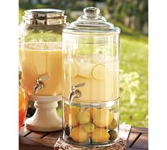 On a hot sunny day what can be any more refreshing than a something nice and cold to drink? These dispensers are from Pottery Barn. I love how they have them displayed… makes you want to reac…